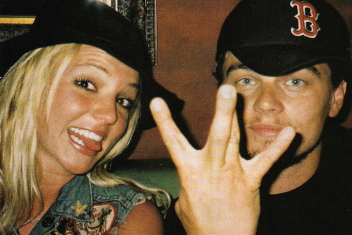 Britney and Leo T-blawg Pose