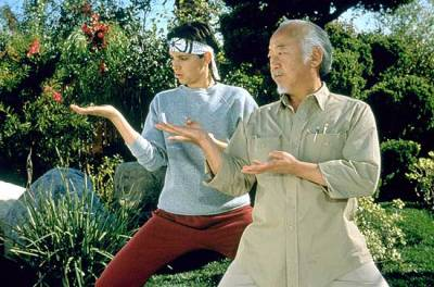 This is how me and the homeless guy look every morning in the Boston Commons getting our karate shit on.