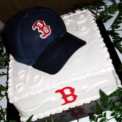 Not sure if this is a birthday cake or a wedding cake? Whatever...that cake is doing the damn T-blawg Pose.