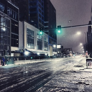 This was when Winter finally hit Boston. And she hit us hard as shit baby. So hard that my damn Instagram changed forever too. I'll tell THAT story! So many stories!!!