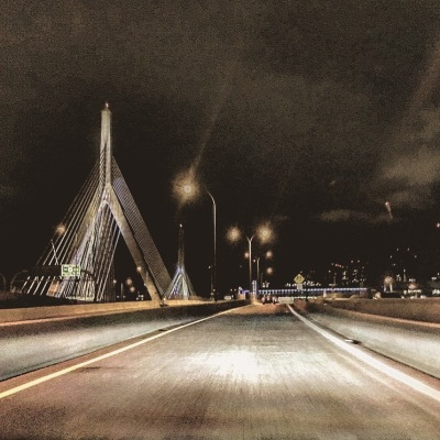 This part of Boston is symbolic to me. I snap a pic whenever I can. In my mind it's the place where I drive into my present from my past every time I cross the Tobin Bridge back into Boston. Deep, I know.
