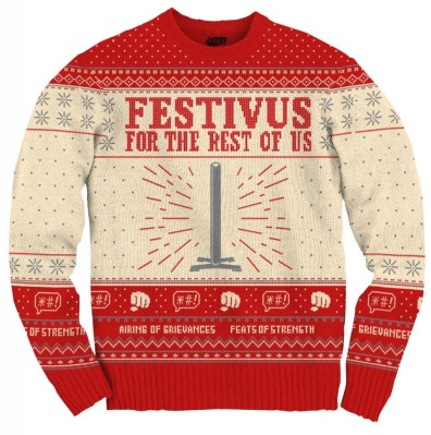Proud to say I've never been to a stupid ugly sweater party. I just don't get them. But if I ever did go, I'd rock the shit out of this sweater.