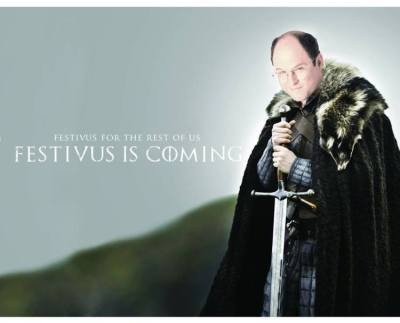 A Festivus meme that mashes up two of my all time favorite shows??? Best…Festivus…EVER.